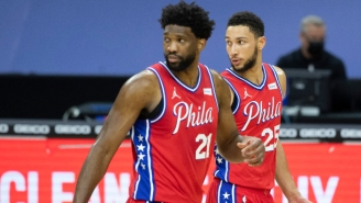 Report: Ben Simmons Thinks Playing With Joel Embiid Has 'Run Its Course' Because Their Styles Don't Fit