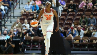 Jonquel Jones Got 48 Of 49 First-Place Votes En Route To Being Named WNBA MVP
