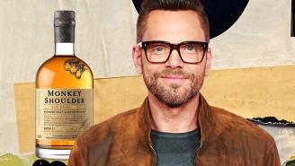 We Reviewed Monkey Shoulder Whisky Live, With Joel McHale