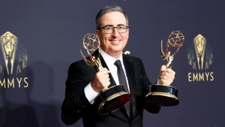 John Oliver Wouldn't Mind If Adam Driver Is 'Mad' After 'Last Week Tonight' Resurrected The Show's Obsession At The Emmys