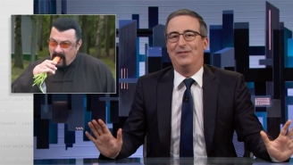 John Oliver Revisited The Time Steven Seagal Bizarrely Ate Carrots With 'The Last And Only Dictator In Europe'