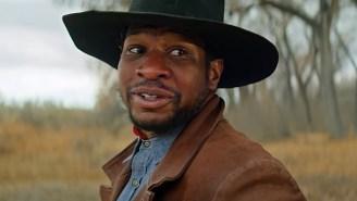 Jonathan Majors Hunts Down Idris Elba In The New 'The Harder They Fall' Trailer