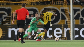 USMNT Striker Jordan Pefok Beat Manchester United With A Late Goal For Young Boys In The Champions League