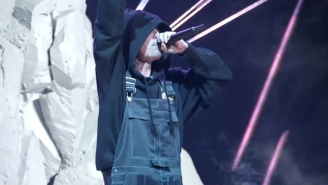 Justin Bieber Returns To The MTV VMAs To Perform 'Stay' With The Kid Laroi And 'Ghost'