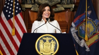 NY Gov. Kathy Hochul Is Deploying The National Guard To Fill In For Unvaxxed Hospital Workers, And The Right-Wing Can't Handle It