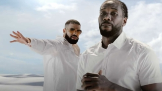 Kawhi Leonard Had A Cameo In The Video For Drake's 'Way 2 Sexy,' And Basketball Fans Lost It