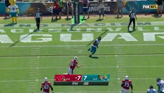 Gus Johnson Went Crazy On A 109-Yard Kick Six By The Jaguars After Arizona Tried A 68-Yard Field Goal
