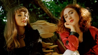 Let's Eat Grandma Have A Dreamy Night At The Fair In Their 'Hall Of Mirrors' Video