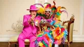 Lil Nas X And Elton John Trade Iconic Looks In A New UberEats Campaign