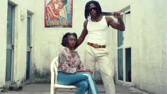 Little Simz And Obongjayar Play Bonnie And Clyde In Their Groovy 'Point And Kill' Video