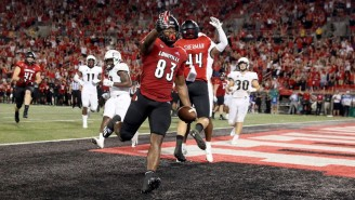 Louisville Beat UCF On A Pick-Six One Play After Throwing A Disastrous Interception Of Their Own