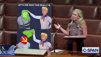 Marjorie Taylor Greene Brought A Scooby Doo Meme To The House Floor, And It Completely Backfired On Her