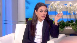 Mila Kunis Mocked The Rock While Discussing The 'So Dumb' Debate Around Her Bathing Comments
