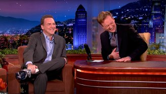 Conan's Tribute To Norm Macdonald Includes The 'Outrageous' Origin Of The Legendary 'Moth Joke'