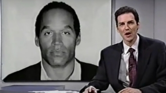 Looking Back On Norm Macdonald's Relentless (And Hysterical) Coverage Of The OJ Simpson Trial On 'Saturday Night Live'