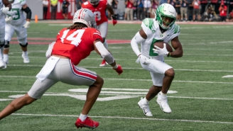 Oregon Picked Up A Huge Win Over Ohio State In An Early Season Showdown