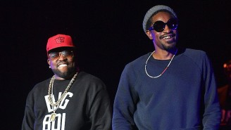Andre 3000 Went With Big Boi To Watch His Son, Cross Patton, Play For Oregon