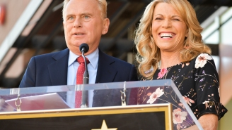 Pat Sajak's Dream 'Wheel Of Fortune' Contestant Is A Three-Time Oscar Winner
