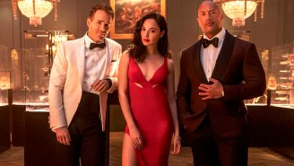 The 'Red Notice' Trailer With The Rock, Gal Gadot, And Ryan Reynolds Unveils 'The Biggest Movie Netflix Has Ever Done'