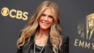 Rita Wilson Rapping To Biz Markie At The Emmys Has Melted Everyone's Brains