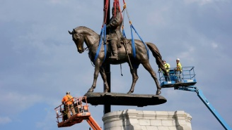 The Robert E. Lee Statue In Virginia Has Been Torn Down (And Sawed Into Pieces), And People Are Jubilant