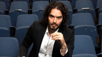 Russell Brand Has Gone Off On A Right-Wing Conspiracy Bender, Leaving People Wondering If He's 'Officially Lost His Mind'