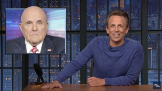 Seth Meyers Cannot Stop Laughing Over Rudy Giuliani Getting Banned From Fox News