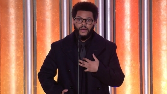 The Weeknd Was Pushed To Tears As He Accepted The Quincy Jones Humanitarian Award