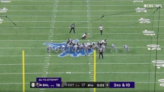 Justin Tucker Bounced In An NFL Record 66-Yard Field Goal To Beat The Lions