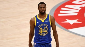 Report: The Warriors Are 'Concerned' About Andrew Wiggins' Availability Because He Won't Get The COVID Vaccine