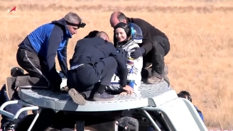 A Russian Film Crew Has Returned To Earth After Shooting The First Movie In Space