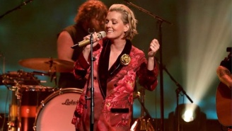 Watch Brandi Carlile Perform 'You And Me On The Rock' With Lucius On 'Ellen'