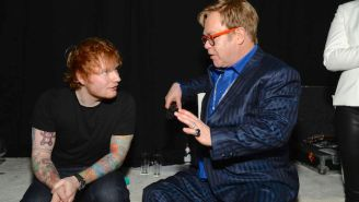 Ed Sheeran And Elton John Apparently Made A Christmas Song Together