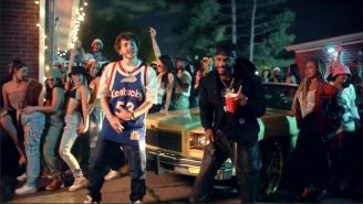 Jack Harlow Throws A Lively Louisville Party In His 'Luv Is Dro' Video With Static Major And Bryson Tiller