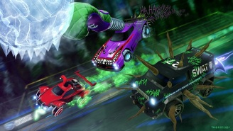 'Rocket League' Turns Into The Joker During Its Haunted Hallows Event