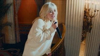 Billie Eilish Takes Over An Opulent Ballroom For A Jazzy 'Lost Cause' Performance