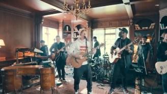Ed Sheeran Took Over A Regal Reading Room For His Wildly Fun NPR Tiny Desk Concert