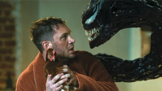 Tom Hardy Shared Then Quickly Deleted A Venom And Spider-Man Crossover Tease