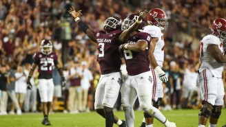 Texas A+M Shocked No. 1 Alabama To Give The Tide Their First Loss To An Unranked Team Since 2007