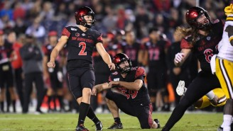 You Need To See This Incredible 81-Yard Punt From SDSU's Matt Araiza