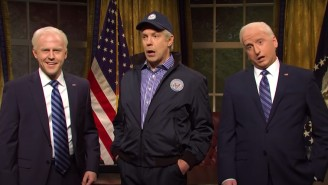 Jason Sudeikis Returned As Joe Biden In A Time-Traveling 'SNL' Cold Open