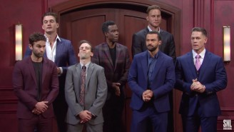 Blake Griffin And John Cena Were Surprise Guests For An SNL Spoof Of 'The Bachelorette'