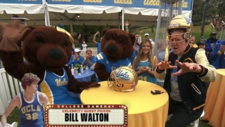 Bill Walton Was Off The Rails In The Best Way As College Gameday's Guest Picker