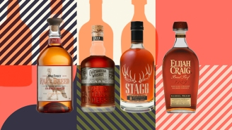 Bartenders Name Their Favorite Cask Strength Bourbons For Fall