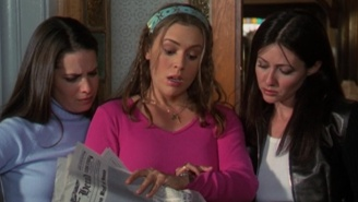 Alyssa Milano Is Sorry About Causing All That Drama On The Set Of 'Charmed