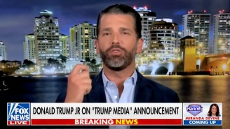 An Amped Up Don Jr. Went On Fox News To Promote His Daddy's New Shady Media And Technology Group: 'It's Gonna Be Awesome'