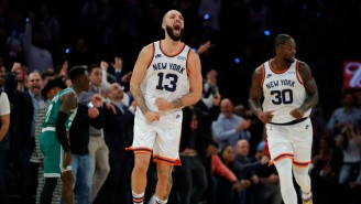 The Knicks Beat The Celtics In An Absolutely Wild Double Overtime Thriller To Open The Season