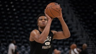 Giannis Antetokounmpo Put On A Show In The Bucks' Season Opening Win Over The Nets