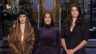 Halsey And Kim Kardashian Reject Cecily Strong's Girl Group Idea In An 'SNL' Promo