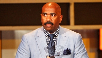 Steve Harvey Posted A Sharp-Dressed Man Photo, And People Got A Little Carried Away With Photoshop